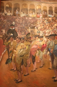 Sorolla's painting at the Spanish Society Museum (New York City)