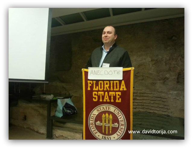 Toastmasters's meeting at Florida State University