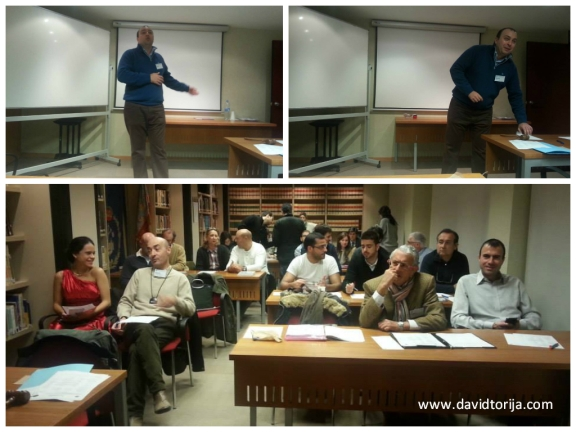 Toastmasters's meeting at Colegio de Ingenieros Industriales de Valencia