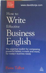 159 How to write business English