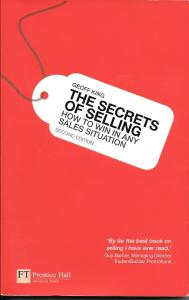 The secrets of selling