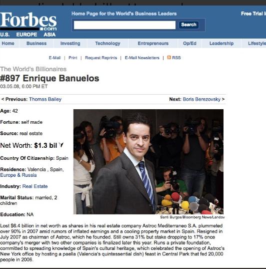 210 La gran apuesta Bañuelos Forbes